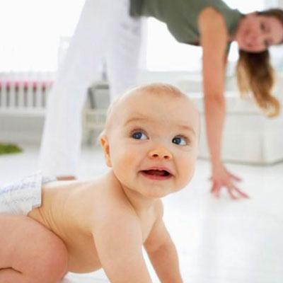 Baba-mama pilates és kismama torna
