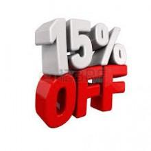 Bátorítás 15%