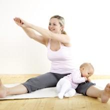Terhesség után, szoptatás, ringatás, babusgatás időszakában, sürgősebb pilatesre járni, mint  valaha.