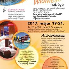 Pihenj aktívan május 19-21-én a csodaszép Hotel Termálkristály Gyógyvizes Termál és Élményfürdőben